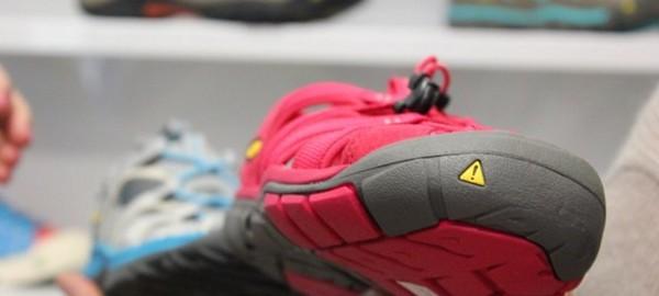 Pokaz kolekcji butów Keen CNX