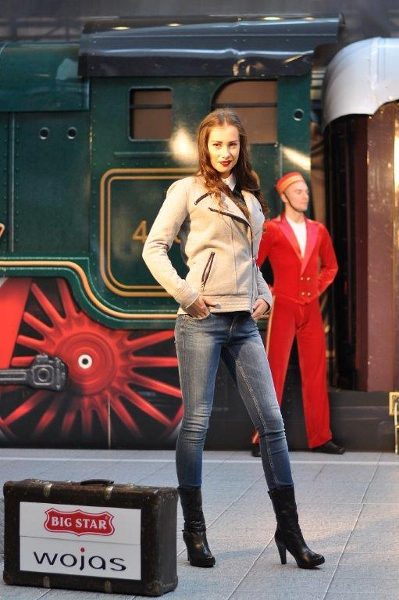 Pociąg do mody w Wola Park