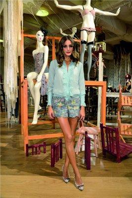 Pokaz mody INTIMISSIMI - Olivia Palermo