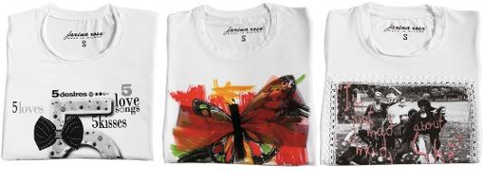 Koszulki z nadrukami - Farina Rosa