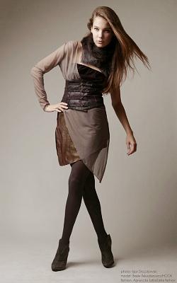 Łatka Fashion: suknia warstwowa