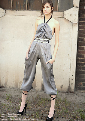 Łatka Fashion: Chic Model