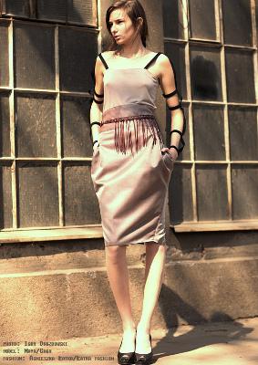 Łatka Fashion: Graphic Ethnic Model