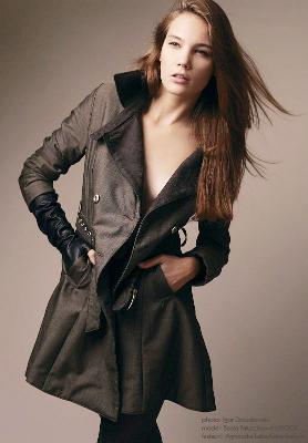 Łatka Fashion: płaszcz