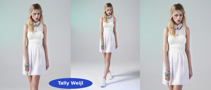 Małe białe sukienki - Tally Weijl