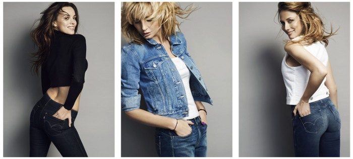 Linia Levi's® Revel™ to ultra kobiece dżinsy
