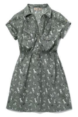 Kolekcja Cropp: sukienka szara