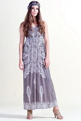 Kolekcja HEPPIN BOHO: sukienka szara