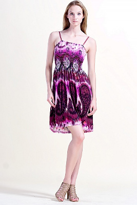 Kolekcja HEPPIN BOHO: sukienka fioletowa