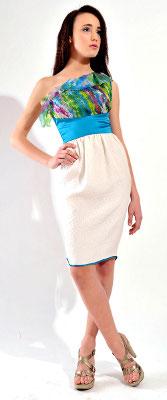 Kolekcja Imunzi: sukienka kolorowa