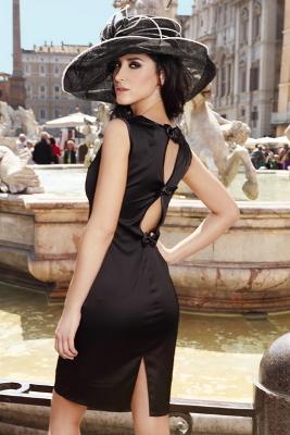 Kolekcja Mona: czarna sukienka