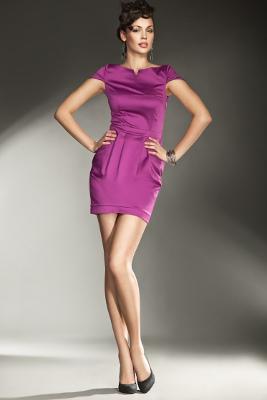 Kolekcja NIFE: sukienka fioletowa