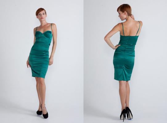 Kolekcja Rubber Ducky: sukienka zieleń