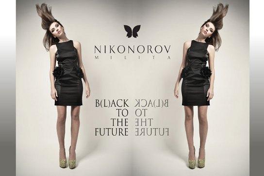 Milita Nikonorov - B(L)ACK TO THE FUTURE - kolekcja JESIEŃ/ZIMA 2012/13
