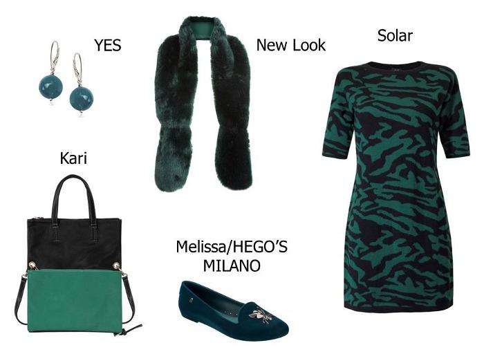 Stylizacje: sukienka na jesień i zimę