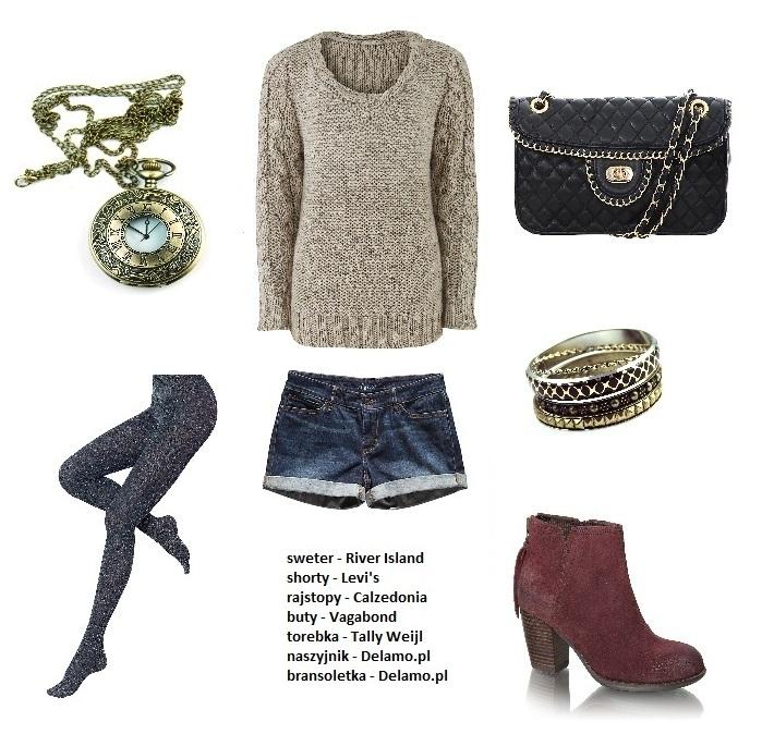 stylizacje swetry