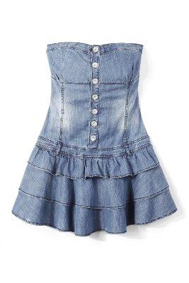 Sukienki dżinsowe: HOUSE