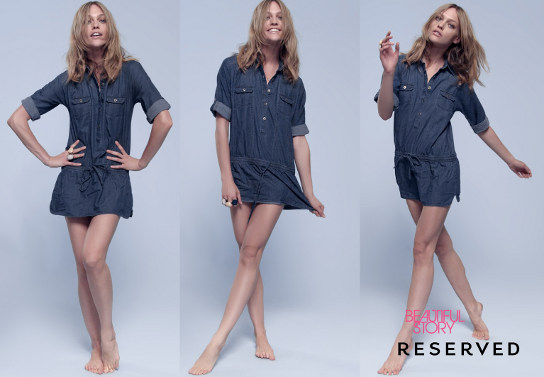 Sukienki dżinsowe: RESERVED